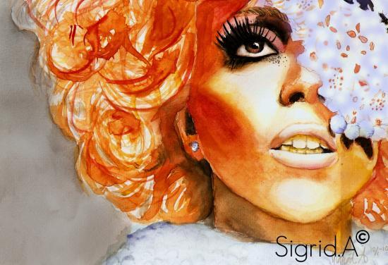 Lady Gaga por TokioHotel_sigrid